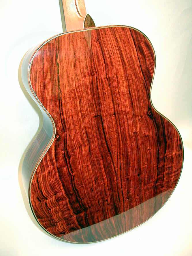 Cocobolo Guitar Wood Cocobolo Wood Guitar Started